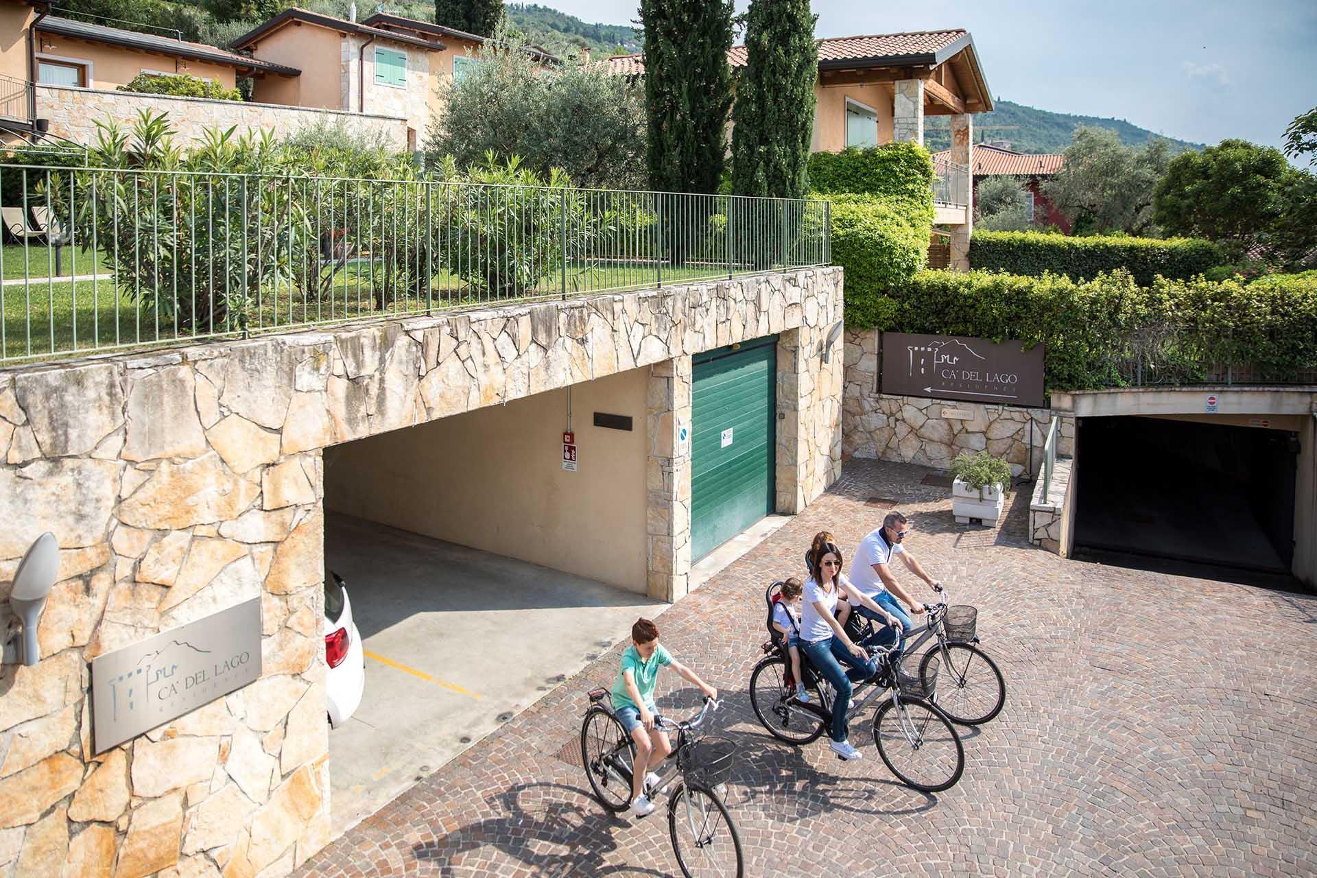 Residence Ca' del Lago, Lago di Garda, rental point