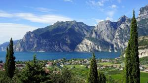 'World's most beautiful cycle path' opens on Lake Garda